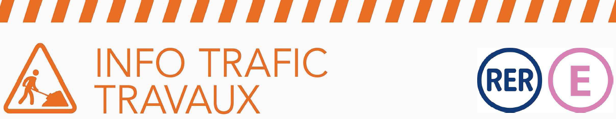Info trafic travaux RER E