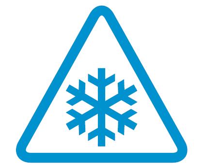 logo RER E Plan grand froid, neige