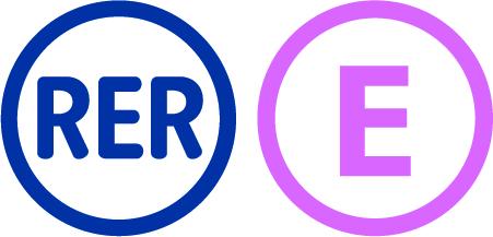 """Résultat de recherche d'images pour """"rer e logo"""""""