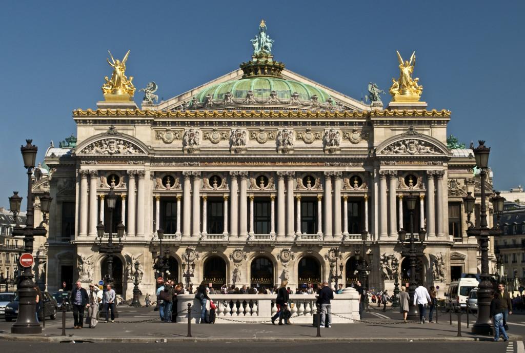 Opéra Garnier patrimoine RER E