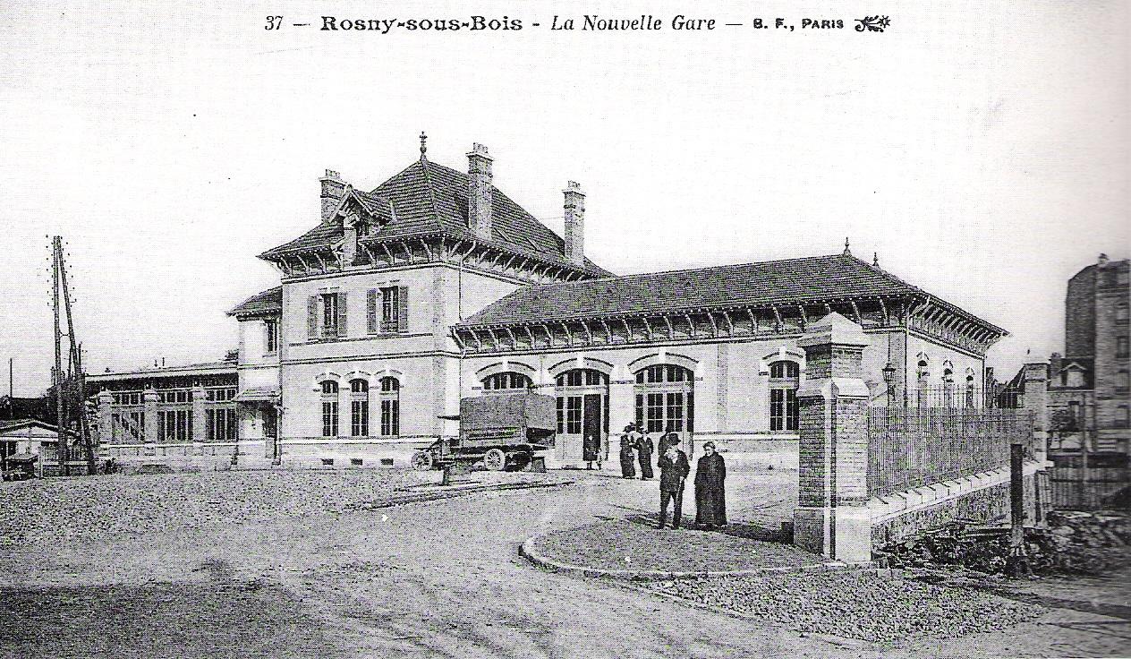 Gare de Rosny sous Bois  horaires, histoire et informations pratiques ~ Siretex Rosny Sous Bois