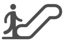 Picto escalator