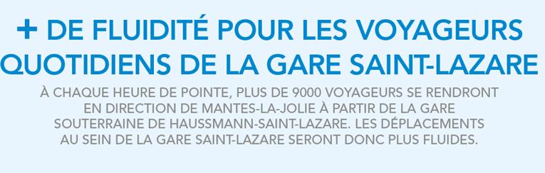 RER E St Lazare