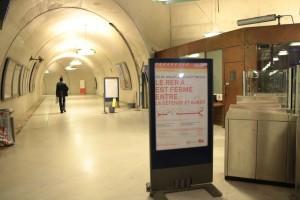 Accès correspondance RER A et le métro Ligne 9
