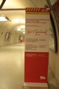 Pôle Haussmann sortie rue Saint Lazare Accès métro Ligne 12
