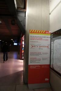 Pôle Saint Lazare Passerelle intermédiaire entrée CAB