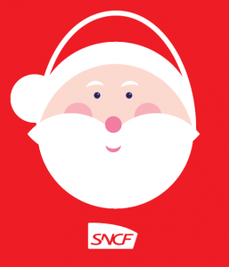 Père Noël SNCF